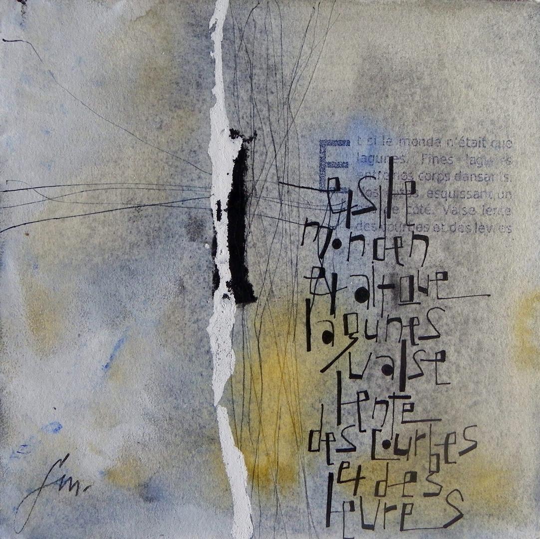 Françoise Michaud- calligraphie
