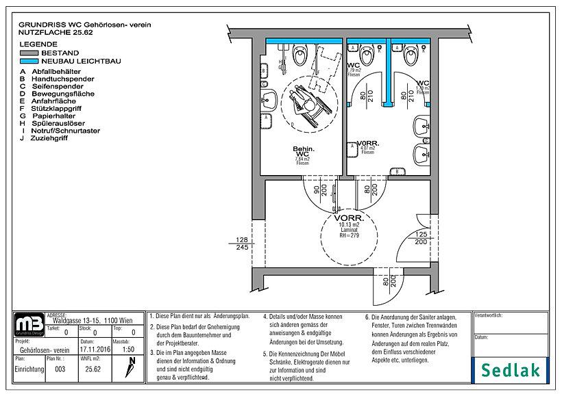 Einrichtungsplan  mb-grundriss-design | Waldgasse