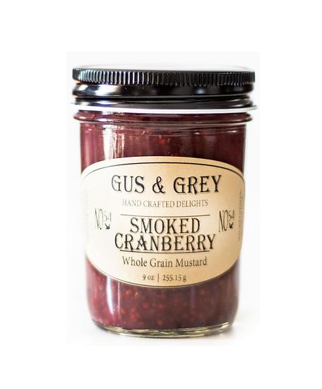 Smoked Cranberry Mustard