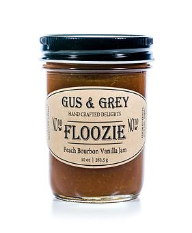 Floozie // Peach Bourbon Vanilla Jam