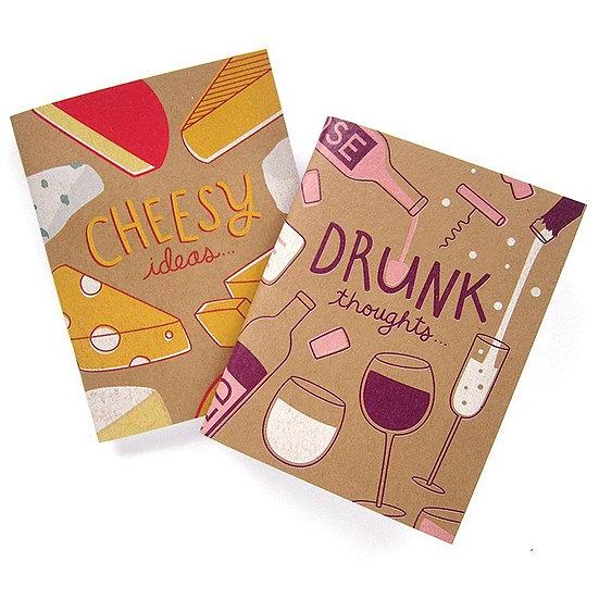 Wine & Cheese (Notebooks)
