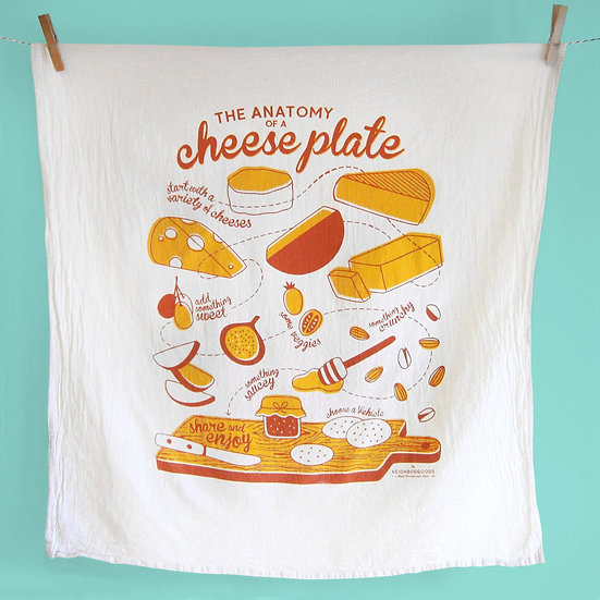 Cheese Plate (Towel)