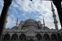 Sultan Ahmet mosque in Istanbul, Tur