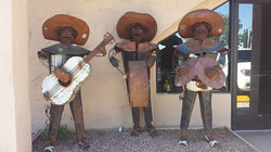 Mexican Statues