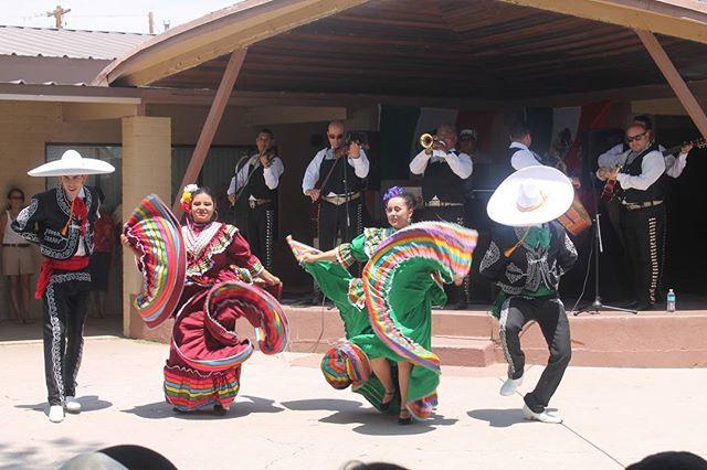 Mexican dancing