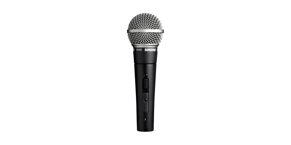Shure SM58 Switch