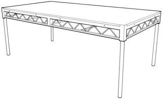 """6"""" DJ Table"""