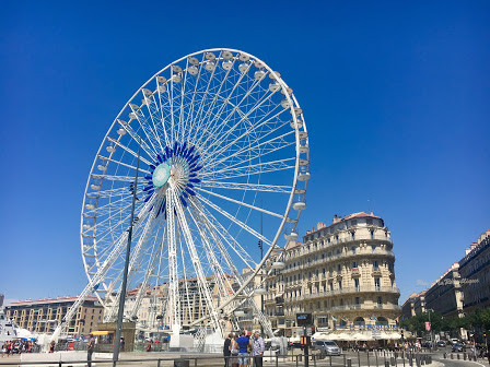 Ferris Wheel in Marseille