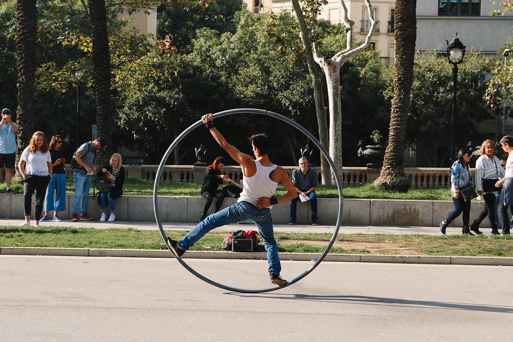 Barcelona Street Performer