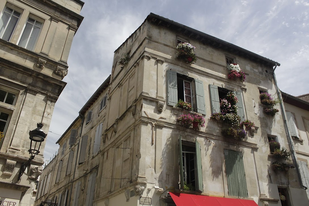 Pretty buildings in Arles