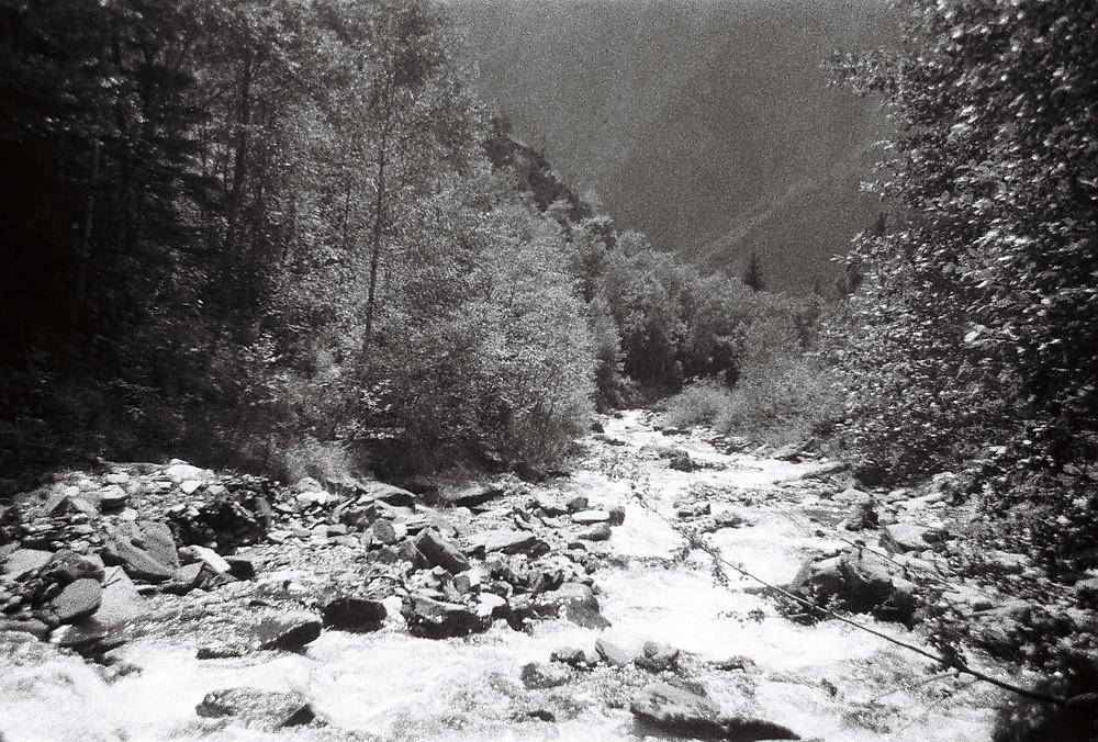 Waterfall in Chantelouve