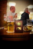 League Presentation Night - Photograph not big enough to fit all 8 trophies in!
