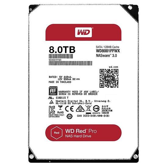 """Western Digital WD 3.5"""" Internal HDD 8 TB (Red Pro)"""