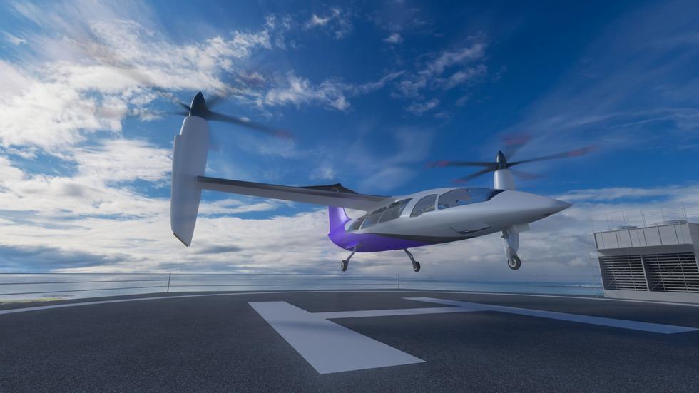 TIltrotor Landing