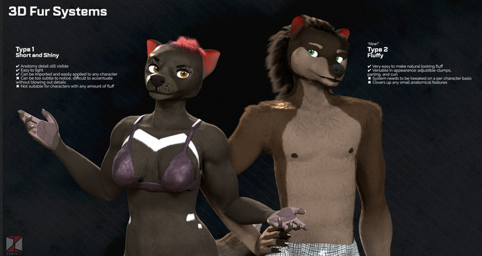 Character Fur Showcase