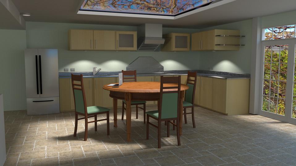 Simple Kitchen Scene