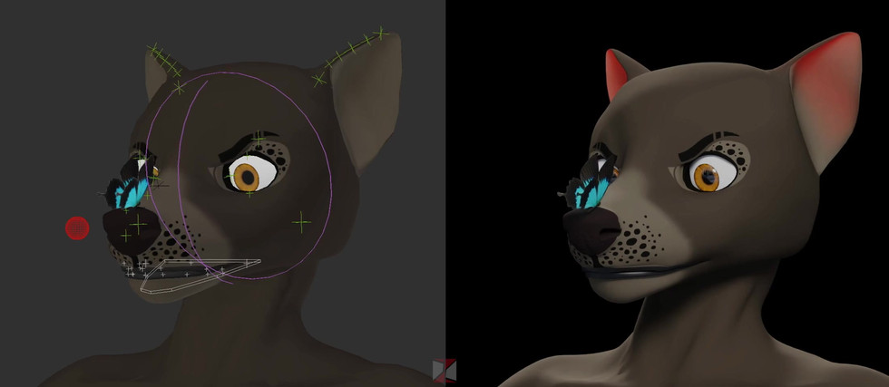 Andi - Face Rig Test
