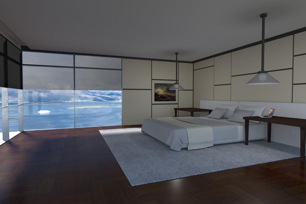 Simple Bedroom Scene