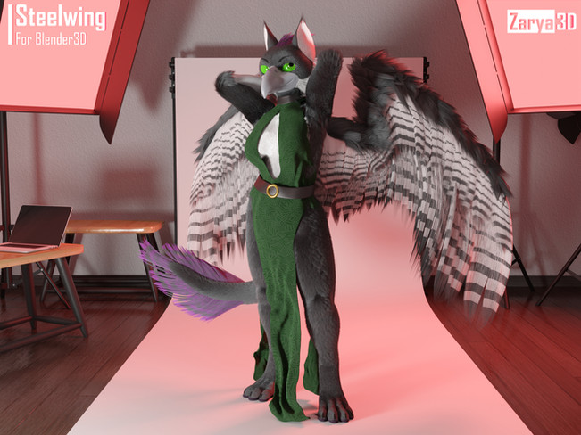 Steelwing (Commission)