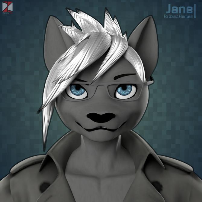 Jane SFM Model (Commission)