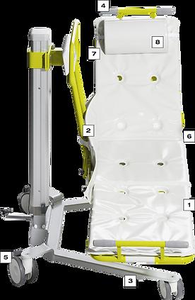 Hydraulischer Liegelifter Novum 200