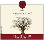 2017 Chapter No. 5 Wine | Pinot Noir | Califorina | Label Image
