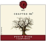 2017 Chapter No. 5 Wine | Pinot Noir | Califorina | Label Image