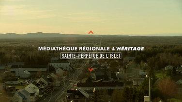 Médiatheque régionale L'héritage à Sainte-Perpétue