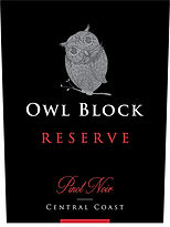 2016 Owl Block | Pinot Noir | Reserve | Central Coast | Label Image