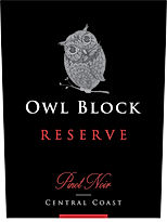 2016 Owl Block | Pinot Noir | Reserve | Central Coast | Label Image
