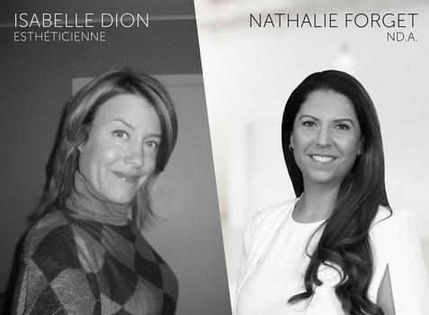 Isabelle Dion et Nathalie Forget