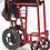 Thumbnail: Chaise de Transport légère en aluminium