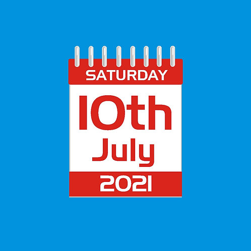 DAY TICKET - SATURDAY 10th JULY 2021