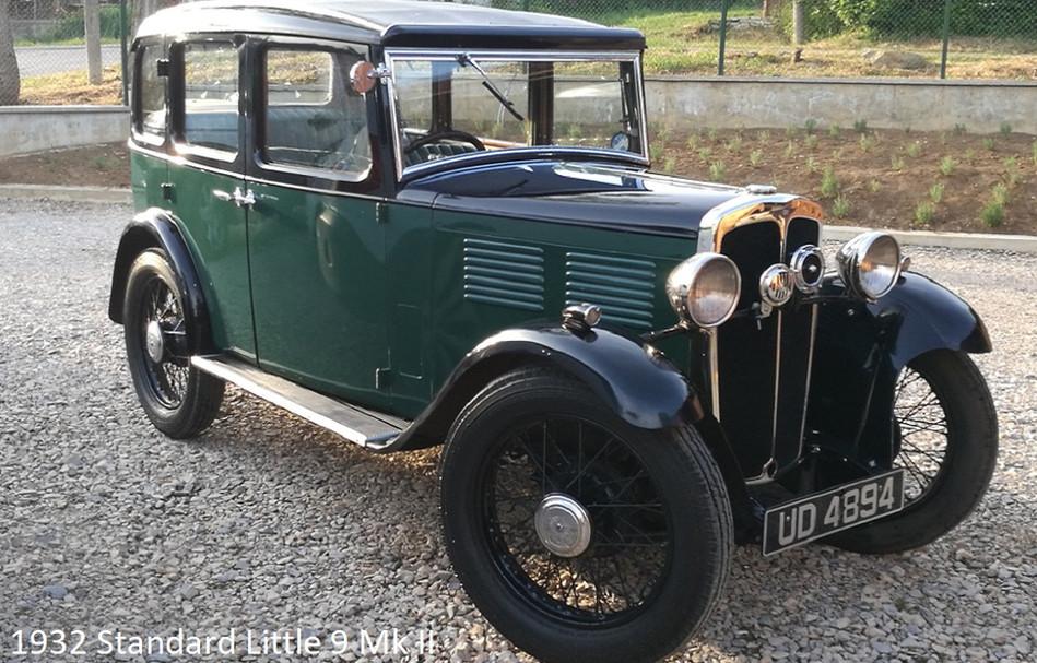 1932 standard little 9 mk II- extra in p