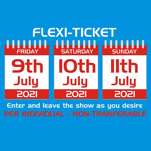 3-DAY TICKET - FLEXI-PASS