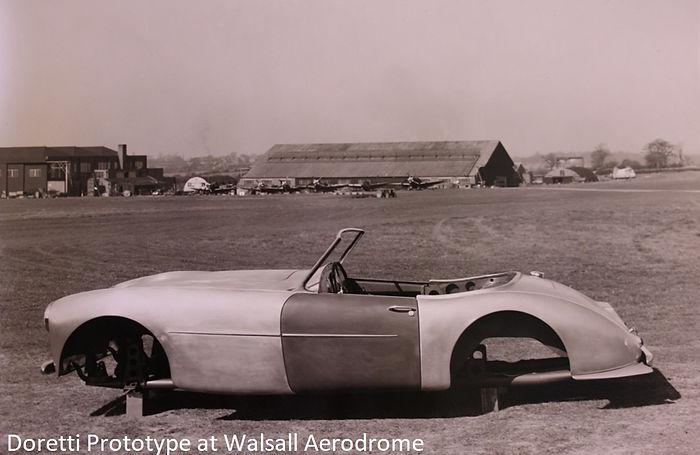 doretti prototype photographed on Walsal