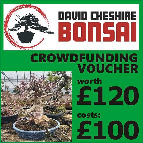 £120 Crowdfunding Voucher