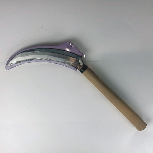 Japanese Sickle Saw (Wooden handle)