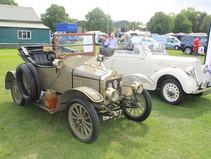 Triumph and MG Show at Malvern Showground