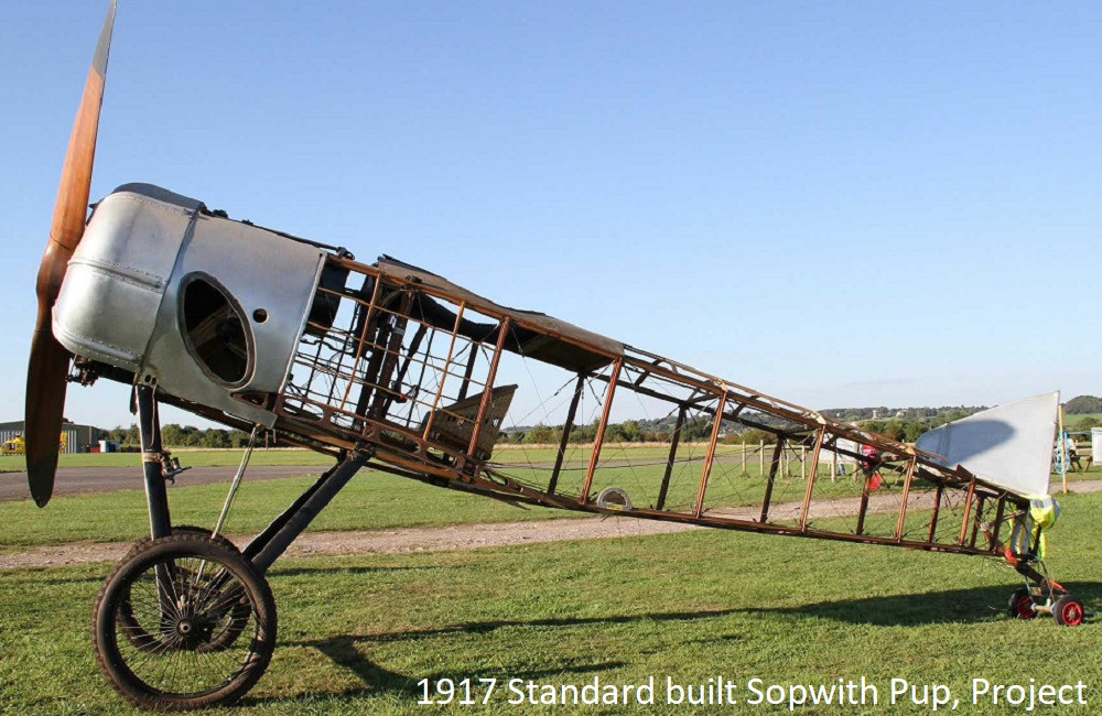 1917 Standard built Sopwith Pup project.