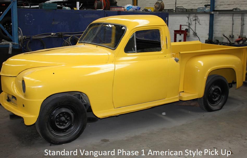standard vanguard phase 1 american style