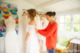 wedding dress designer Melissa Waite Couture Newcastle