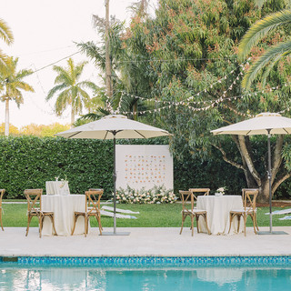 Cocktail Reception Outdoors