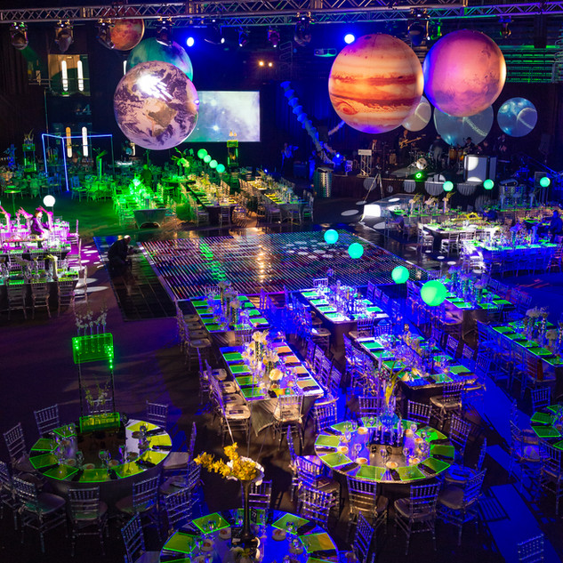 NTERPLANETARY-THEMED BLACK-TIE GALA IN MIAMI, FLORIDA