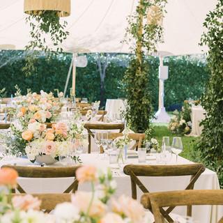 Rattan Chandeliers for Weddings