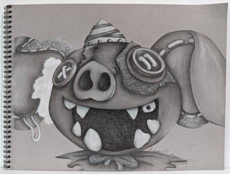 Boko-Mask // Efren E Rodriguez — Illustration