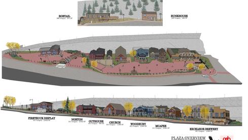 Gregory Plaza Master Plan