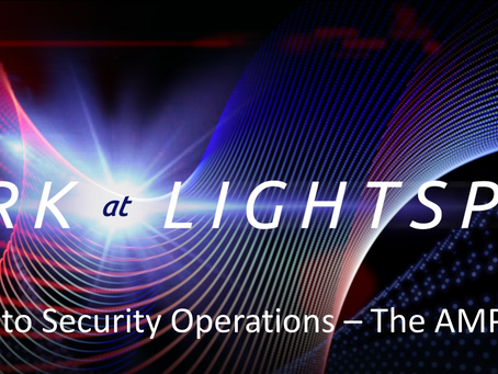 "Presenting ""Security at Lightspeed"" at the ServiceNow NowForum '17 in Sydney at the IC"
