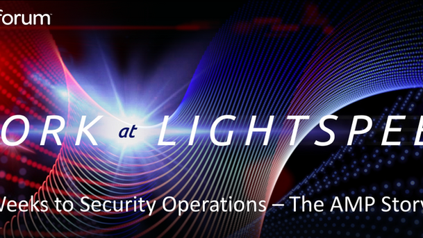 """Presenting """"Security at Lightspeed"""" at the ServiceNow NowForum '17 in Sydney at the IC"""