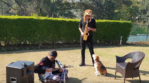 The Doggo likes the tune